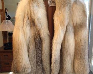 BUY IT NOW! $275 Beautiful Red Fox Stroller coat sz M