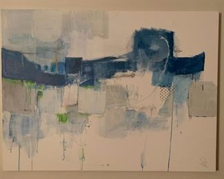 Abstract Painting by Local La Jolla Artist Sue Whitman