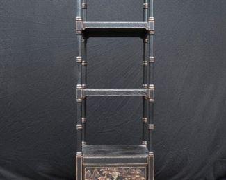 Pulaski oriental treasures aged 4 level shelf