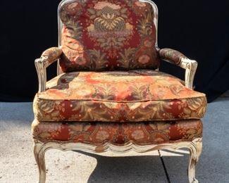 Aged Arm Chair