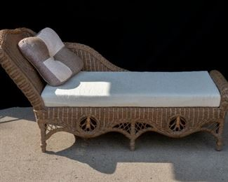 Rattan Fainting Couch