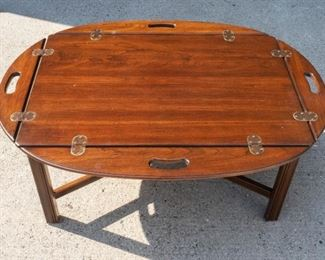 Vintage Butler's Tray