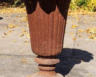 Cast Iron Tulip Vase Planter