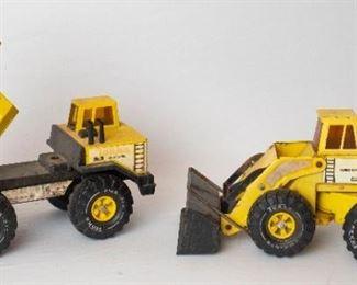 Vintage Tonka Trucks, Dump Truck & Bulldozer