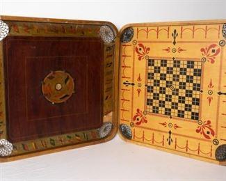 2 Vintage Carrom Boards