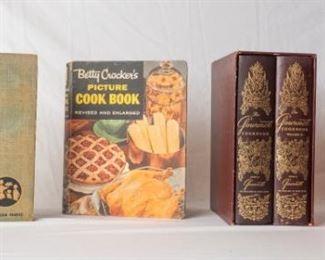 Vintage Betty Crocker Pillsbury Gormet Cook Books