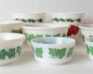 Pyrex Christmas Bowls