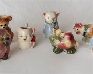 vintage Ceramic Kitchen Decor & Piggy Banks
