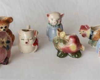 vintage Ceramic Kitchen Decor & Piggy Banks