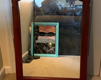 """Beautiful Cushman Colonial Creations mirror #4-135. In great condition.  It is 35"""" tall and 22"""" wide.  Please contact Steph at 1 (518) 944-0256 or email stephaniejd1@icloud.com"""