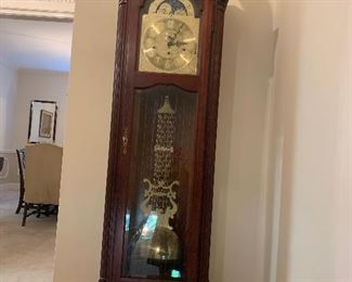 Attractive grandfather clock
