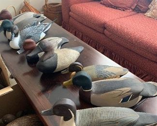 Collection of decoys and then some