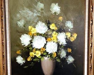 Lithograph Floral