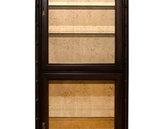 Dorset Corp Display Cabinet - 74 in Tall x 14 in deep x 26 in Wide - 125.00 - Call Diane to Purchase 205 799-4166