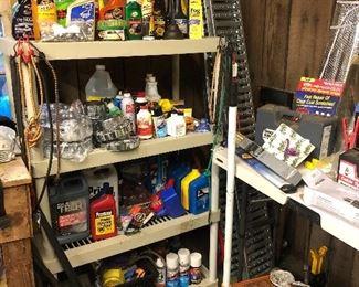 Paint, Garage Essentials