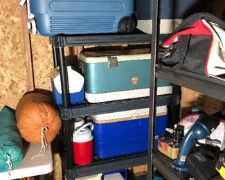 Coolers, Camping Gear