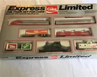 1980s Coca Cola Express Limited Train Set