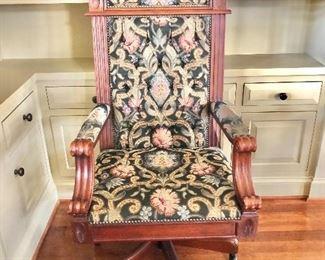 "$600 - ""The Throne"" office chair - 26""W x 24""D x 54""H"