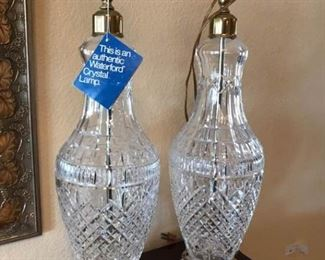 Waterford Crystal Lamps