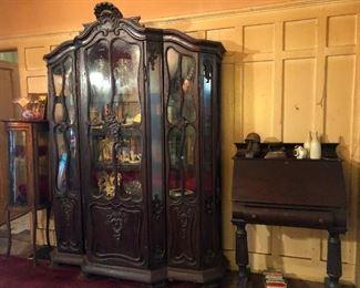 exquisite deco cabinet