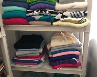 A TINY portion of the the ladies clothes