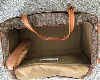 Inside of duffel