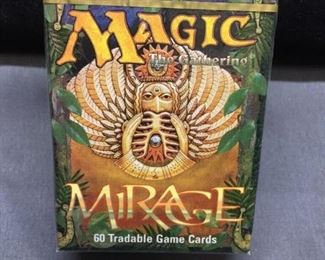 Factory Sealed Magic the Gathering MIRAGE 60 Card Starter Deck - Vintage WOW