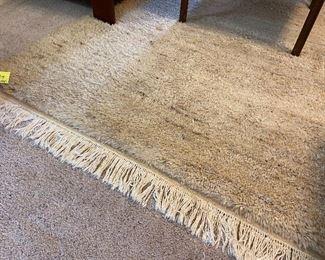 Shaggy rug!