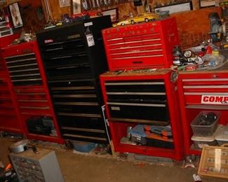 A dozen Craftsman tool chests...FULL