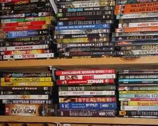 Some of the DVD titles