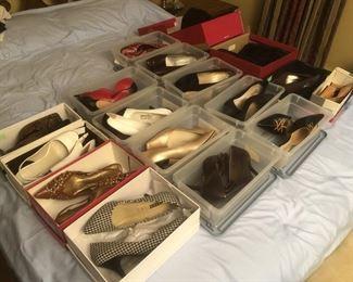 designer shoes - sizes 7 - 8