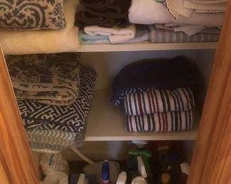 linens & towels & supplies