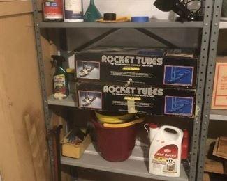 1980s rocket tubes game