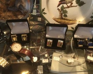 cuff links & watches