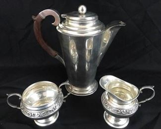 Sterling Coffee Set