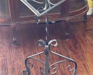Wrought Iron Bible Stand35x23x15inHxWxD
