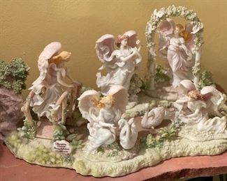 Seraphim Classics Heavenly Reflections Pond Set Complete Collection10x23x13inHxWxD