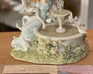 Seraphim Classics Carley Make A Wish Angel Sculpture7x7x4.5HxWxD