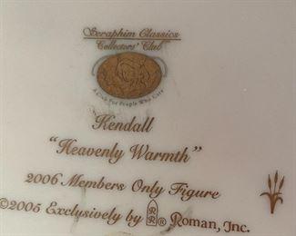 Seraphim Classics Kendall Heavenly Warmth Angel Sculpture7x6x6HxWxD