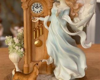 Seraphim Destiny Angel Sculpture7x6.5x4inHxWxD
