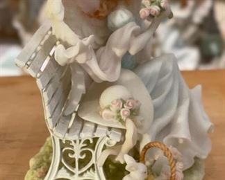 Seraphim Dominique Simple Pleasures Angel Sculpture6x6x4.5inHxWxD