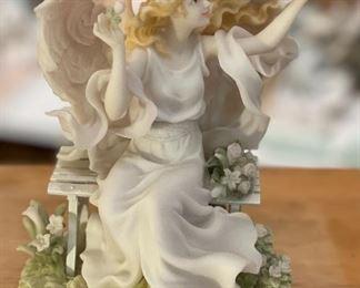 Seraphim Michelle Hope Blooms Angel Sculpture7x5x5inHxWxD