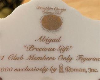 Seraphim Abigail Precious Gift Angel Sculpture7.5x7x3.5inHxWxD