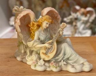 Seraphim Juliette Music's Gift Angel Sculpture5x8x3.5inHxWxD