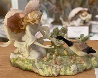 Seraphim Jessica Grateful Heart Angel Sculpture5x8x5inHxWxD