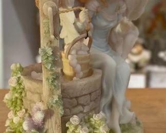 Seraphim Phoebe Hearts Content Angel Sculpture6.5x6x4.5inHxWxD