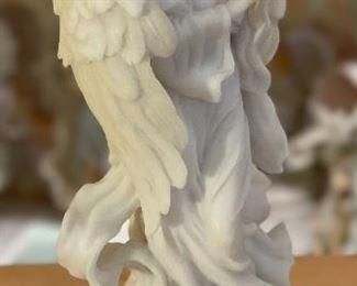 Seraphim Memorial Angel Gods Care Angel Sculpture8x4.5x3.5in
