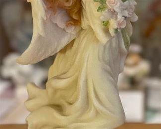 Seraphim Samantha Blessed at Birth Angel Sculpture7.5x5x4inHxWxD