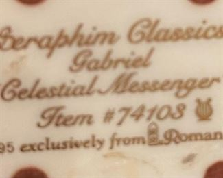 Seraphim Gabriel Celestial Messenger Angel Sculpture7.5x5x3inHxWxD