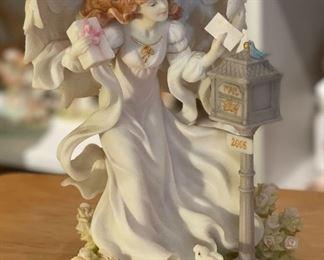 Seraphim Kayli Heavens Greetings Angel Sculpture8x6x4inHxWxD